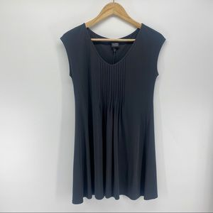 EILEEN FISHER NWT 100% Silk Blouse XS Black